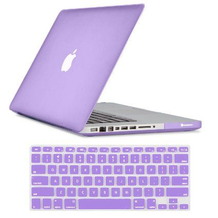 "Amazon.com: For New Apple Macbook Pro 13"" Rubberized Matte Plastic Hard Case cover With Protective Cover (Hot Pink): Computers Accessories..."