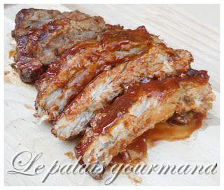Le palais gourmand: Côtes levées sauce barbecue maison