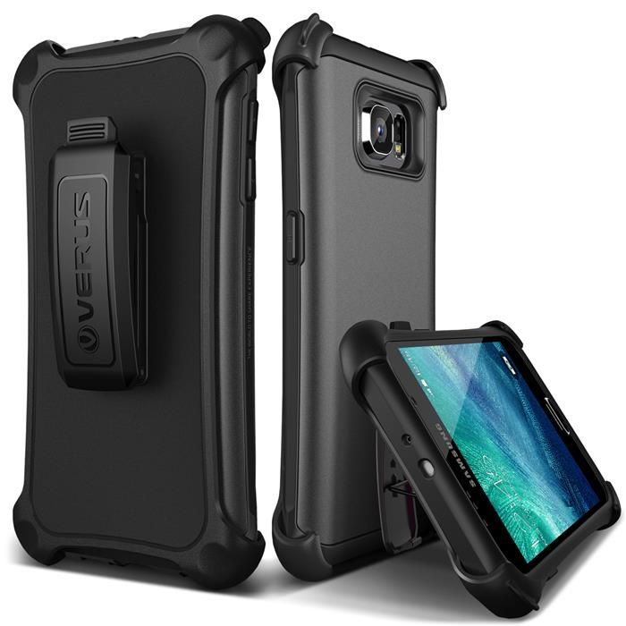 Verus Hard Drop Active Skal till Samsung Galaxy S6 - Silver