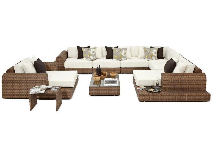 Sofa Slipcovers Milano Sofa Set pricey but how amazing would it look on decking