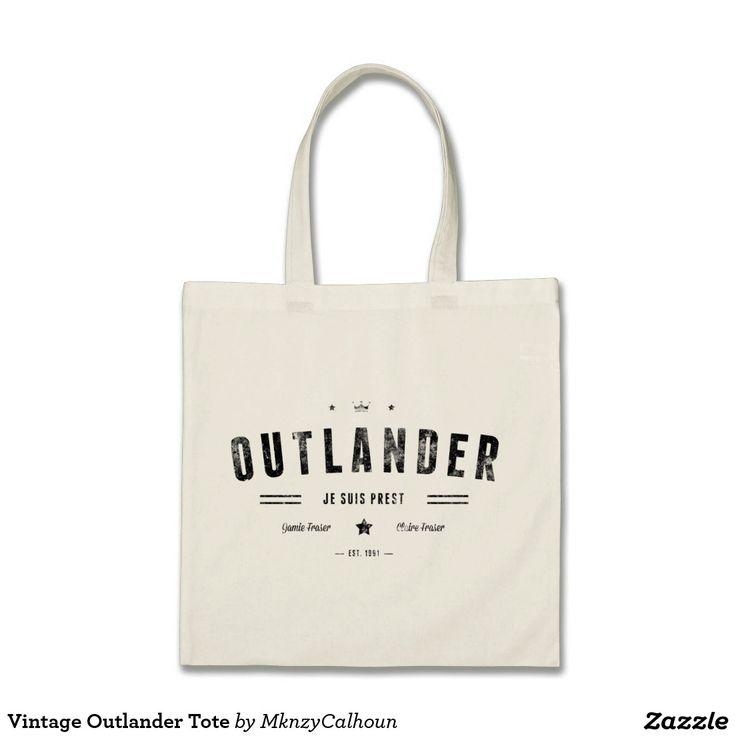 Vintage Outlander Tote Bags