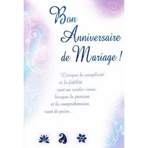 Anniversaire de marriage gift