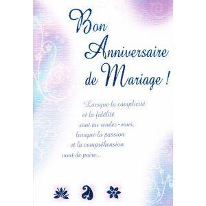 carte bon anniversaire de mariage - 50me Anniversaire De Mariage Texte