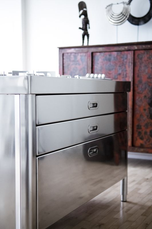 ALPES INOX - can be used both inside and outside kitchen