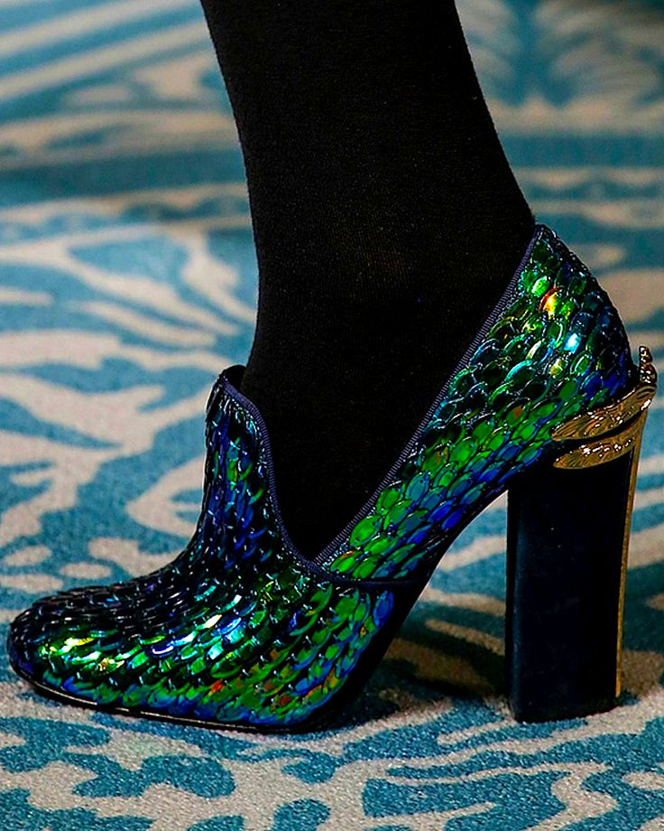 Tory Burch- again, pinning this not because i love it but because it's crazy design