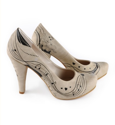 Music shoes- I would wear these occasionally