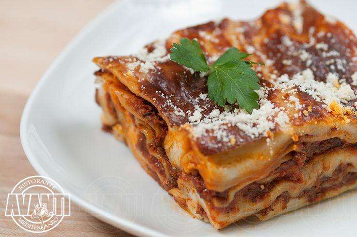 Lasagne (Lasagna with cheese)