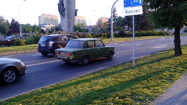 Samochód marki Fiat :)
