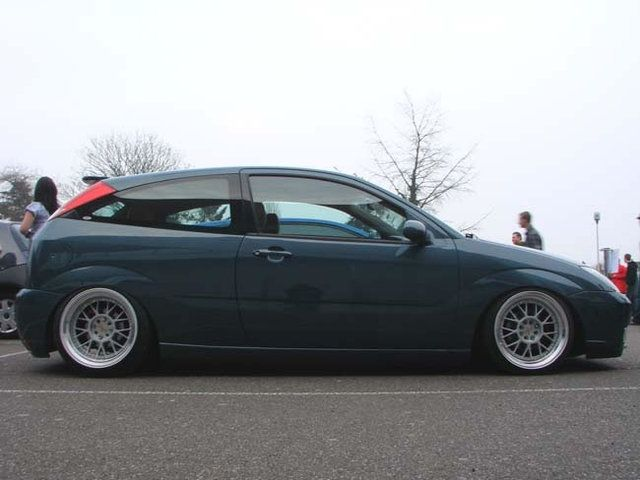 Low Ford Focus Mk1 Big Rims Ford Focus St Tuning Ford