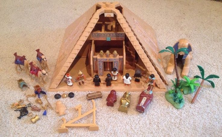 Playmobil Egyptian Lot Golden Pyramid 4240 Sphinx 4242 PLUS MORE!!! Play Mobile
