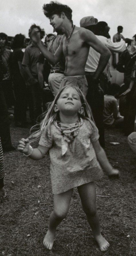 Woodstock. That girl had awesome parents. I know this was me in my other life!!! Blonde haired bared footed hippy kid!!!!: