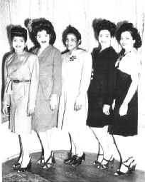 Gordy sisters and mother