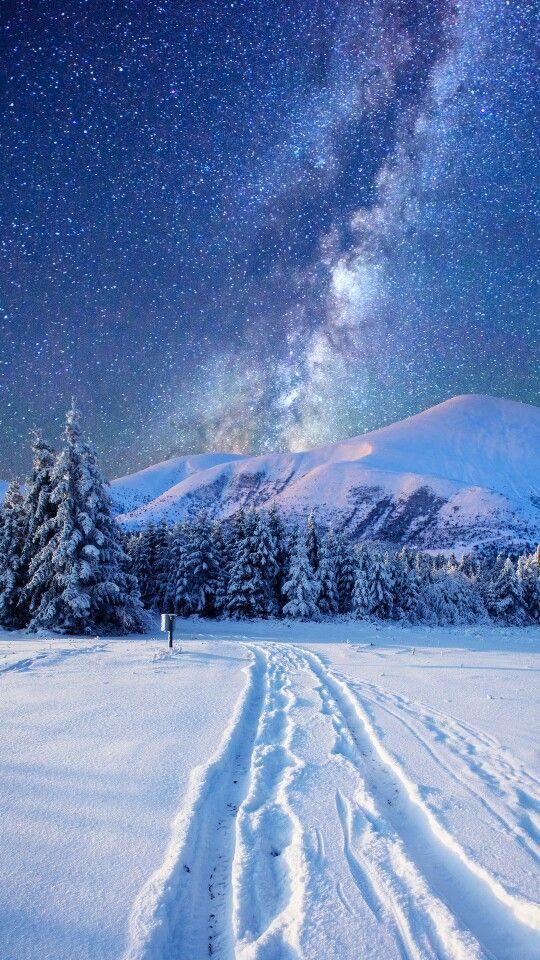 follow me @cushite Milky Way during the winter season. Gorgeous! More