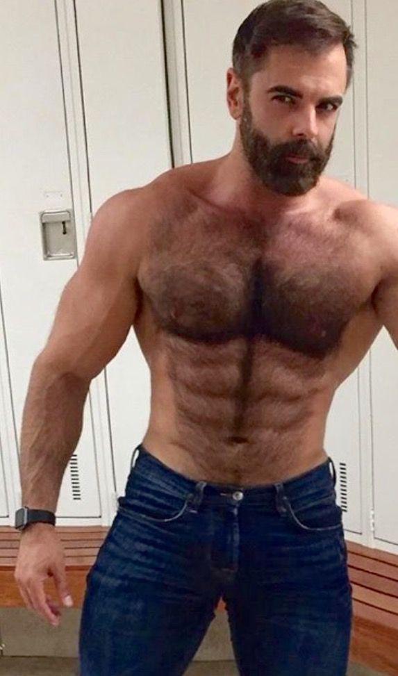 2faeb24cb6 A HARIY HANDSOME BEAST!. | mrobenlook | Hairy men, Men, Muscular men