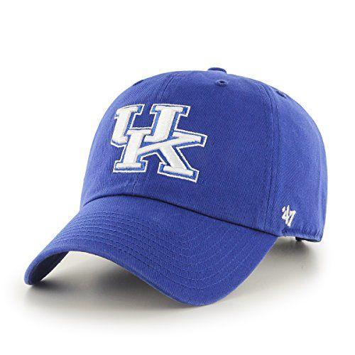 NCAA Kentucky Wildcats '47 Clean Up Adjustable Hat, Royal... https://www.amazon.com/dp/B008G3M9D4/ref=cm_sw_r_pi_dp_x_ThojybQXQ838X