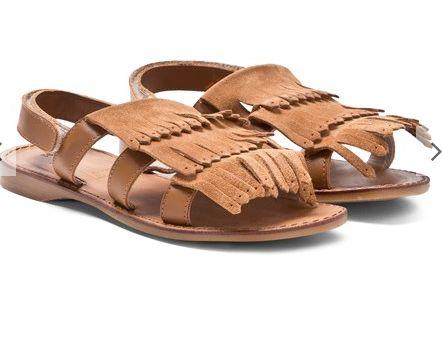 Step 2wo Fringe sandals