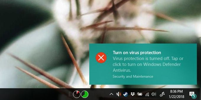 How To Toggle Windows Defender Real-Time Protection In Windows 10