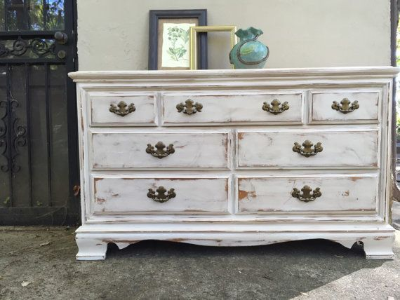 exciting white distressed painted furniture | 109 best Blacksheepmill on Etsy/Boho chic images on ...