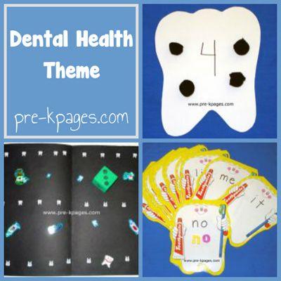 dental health theme in preschool