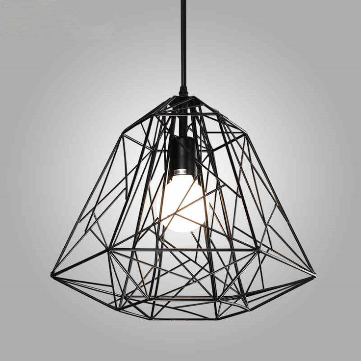 cheap home lighting. find more pendant lights information about modern hive iron diamond cage light rustic lamp luminaire lustre home decor bar cheap lighting