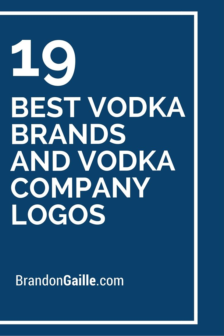 19 Best Vodka Brands and Vodka Company Logos