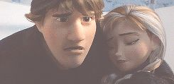 This was my favorite part of Frozen. I loved the worry on Kristoff's face and how you could just tell as he raced back towards the kingdom, that Kristoff was the one that truly cared for Anna the whole time, even though he seemed grumpy in the beginning, he transformed during the movie. <3