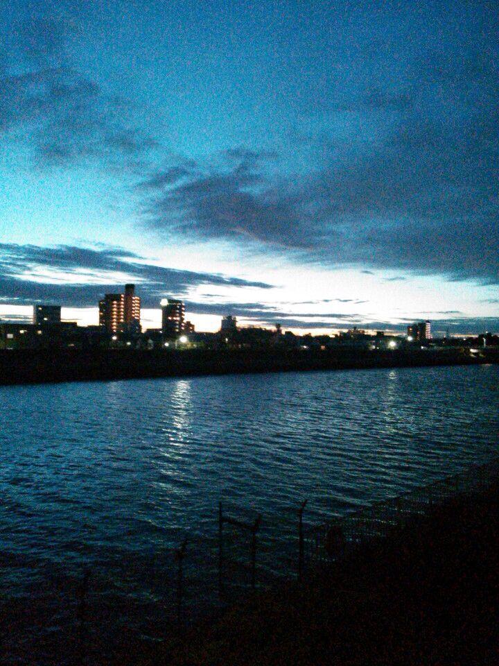 江戸川  Edogawa River, Tokyo, Japan