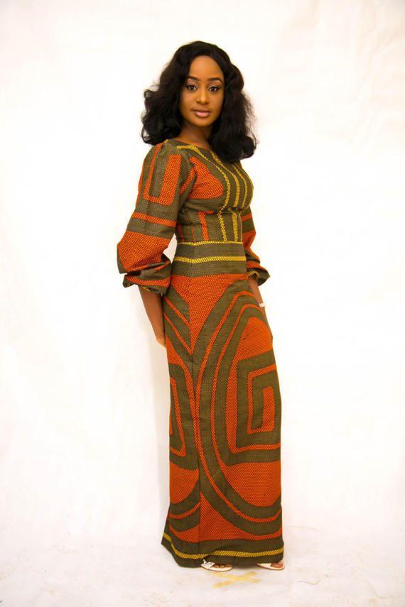 The DEE dress ankara african print african clothing