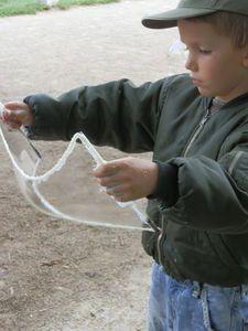 Des bulles de savon géantes !