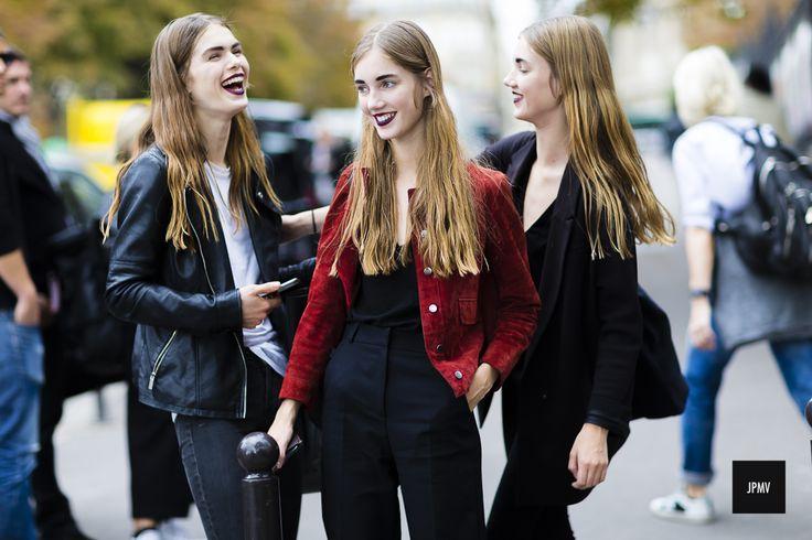 Sandra Schmidt, Cecilie Moosgaard and Amalie Moosgaard – Paris