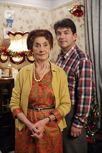 EastEnders Dot and Nick Cotton ~ superbly portrayed by June Brown and John Altman