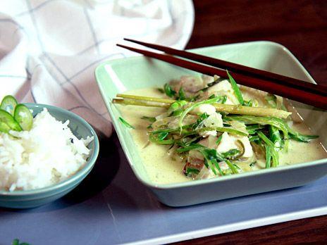 Fiskgryta med torsk och grön curry   Recept från Köket.se