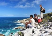 The Whale Trail - Overberg. De Hoop is a Marine Protected Area and world-renowned as one of the best whale-watching spots in the Western Cape. The whale trail is a 54km route from Potberg to Koppie Alleen and it includes five overnight stops. Hikers can savour the fragrance of fynbos on the Potberg Mountains and the unique fynbos plains intermingled with a salty sea air – such is the diversity of De Hoop Nature Reserve.
