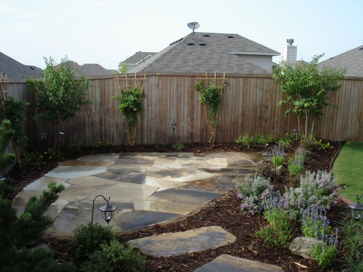 Cheap landscaping ideas for back yard garden edging Cheap back garden ideas