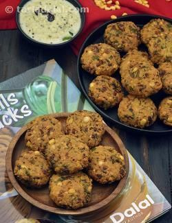 The moment a South Indian buys a cup of tea , he would also buy a plate of Chana Dal Vada to accompany it! That is how popular this tasty South Indian Chana Dal Vada is.