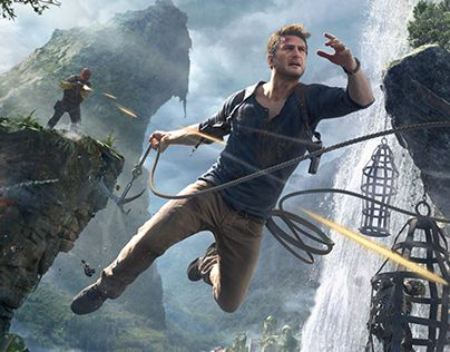 """Check out new work on my @Behance portfolio: """"Uncharted 4™ A Thief's End"""" http://be.net/gallery/36147695/Uncharted-4-A-Thiefs-End"""