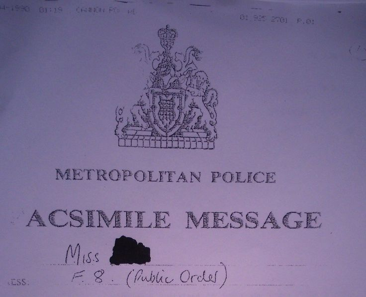 This Confidential Police Log Shows How Cops Lost the Streets of London to Anarchists During the Poll Tax Riots | VICE | United States