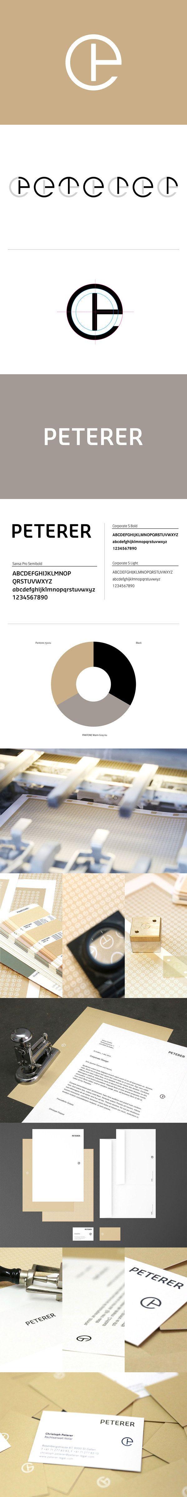 Peterer Lawyer // Corporate Design by Adicto Multichannel Agency , via Behance