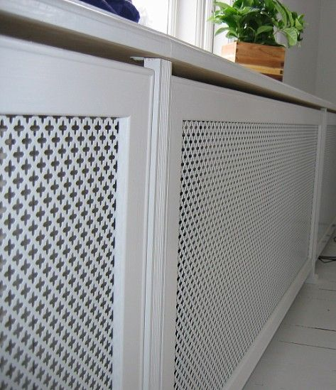 Radiator Screen Mesh Cabinet Doors Diy Cabinets