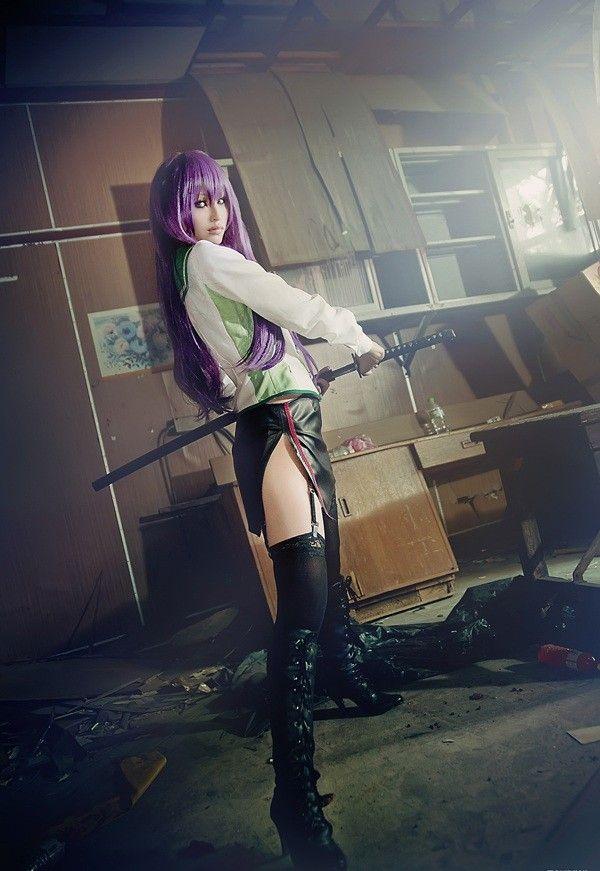 cosplay saeko busujima highschool of the dead hotd akatsuki tsukasa