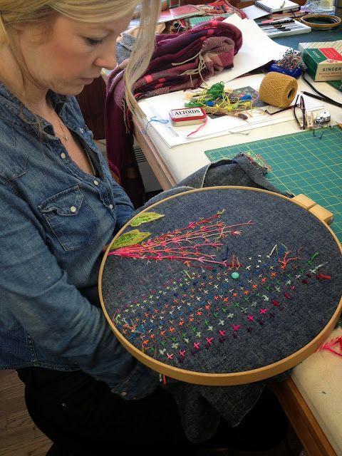 drop cloth: Penland School of Crafts....