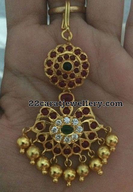 Silver Metal Maang Tikka Designs - Jewellery Designs
