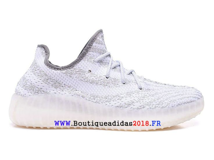 Adidas yeezy 550 boost 2018 - Chaussure Adidas Pas Cher Pour Homme blanc Q2664