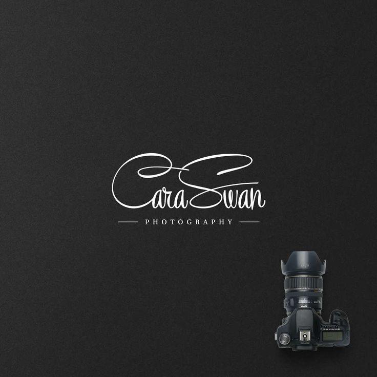 Calligraphy Logo,Text Logo,Name Logo,Font Logo,Signature Logo,Photography Script Logo,Silver Logo,Boutique Logo,Blog Logo Design,Simple Logo by WithPassionDesign on Etsy