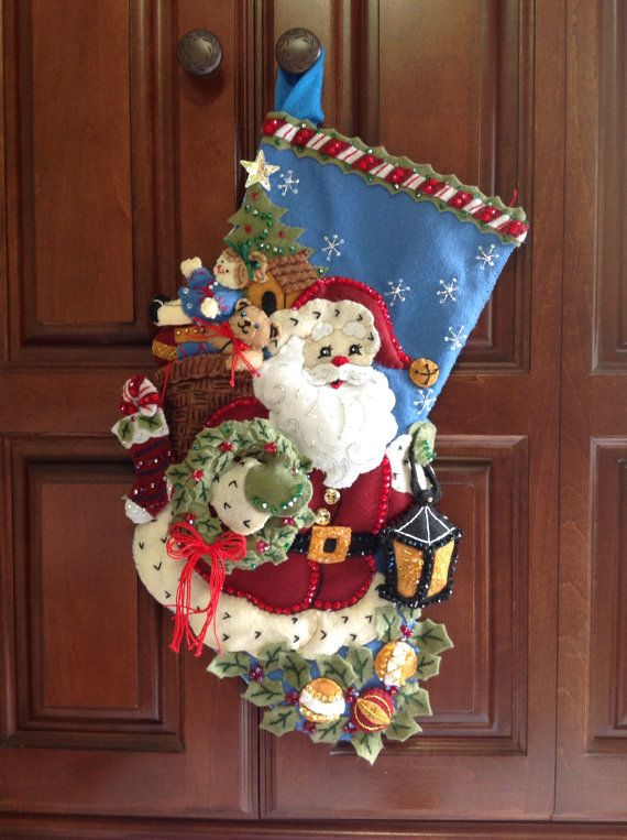 Limited Edition Retired Bucilla Christmas by CHRISTMASCOLLECTIONS, $130.00