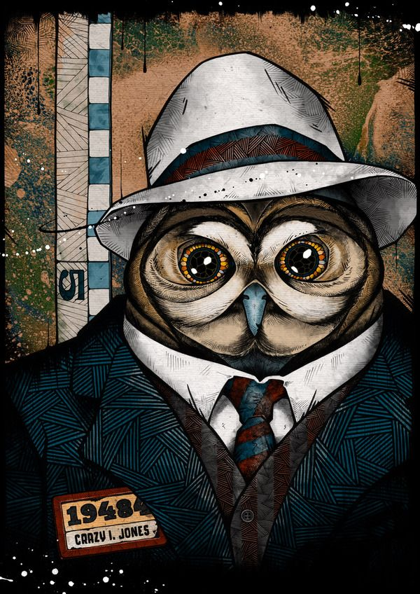 The Usual Suspects by Andreas Preis, via Behance