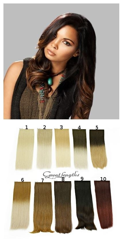 Flow strands   Hair extension - Great Lengths (Find us on: www.facebook.com/greatlengthspoland)