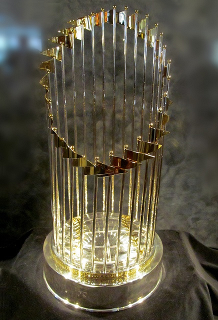 World Series Trophy, 2010. San Francisco Giants