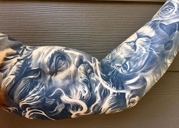125 Best Inner Bicep Tattoos For Men Cool Ideas Designs 2020 Guide Bicep Tattoo Men Inner Bicep Tattoo Bicep Tattoo