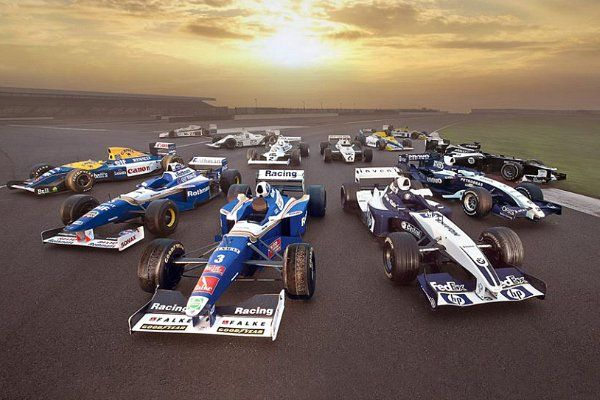 f1 A sample of the best Williams's produced car during its history. (Photo Williams F1 Team
